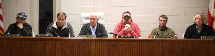 Haleyville City Council Meeting
