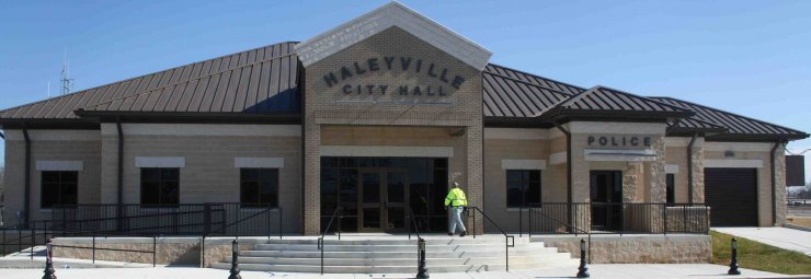 New Haleyville City Hall