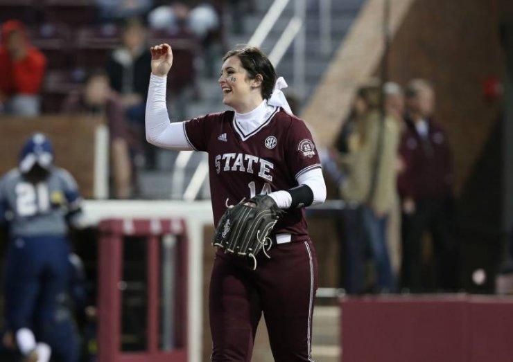 Holly Ward Makes the Sports News at MSU