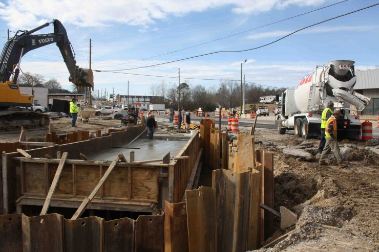 Highway Culvert Project Closer to Completion