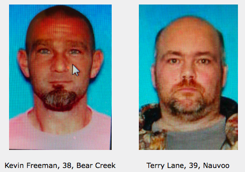 Sting Operation Nabs Two Area Men